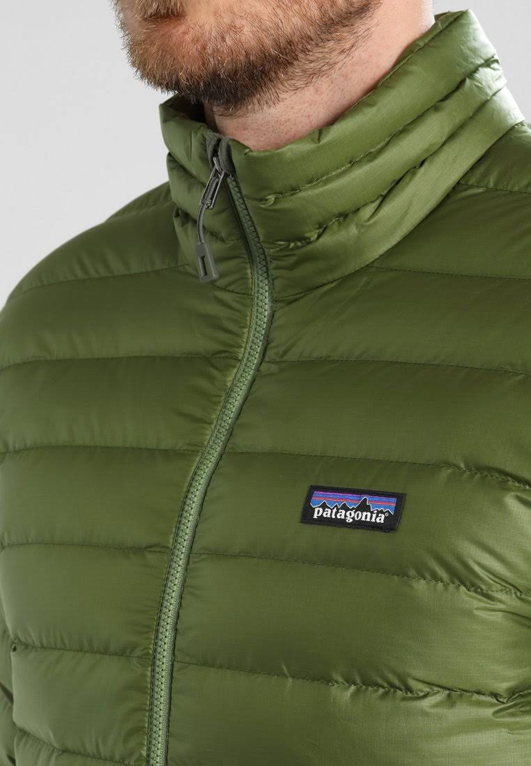 Down Olive Men's Green Jacket Size Sprouted Patagonia Green Small pwq4zdn