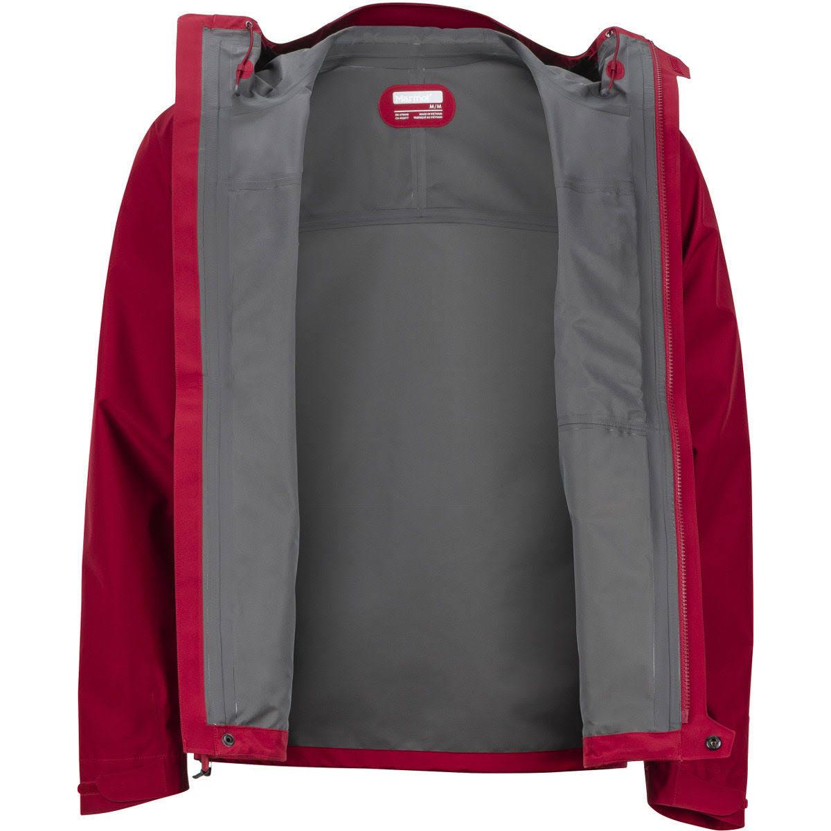 Marmot Minimalista Red Impermeable S Hombre Sienna Chaqueta Para TgOqnI7