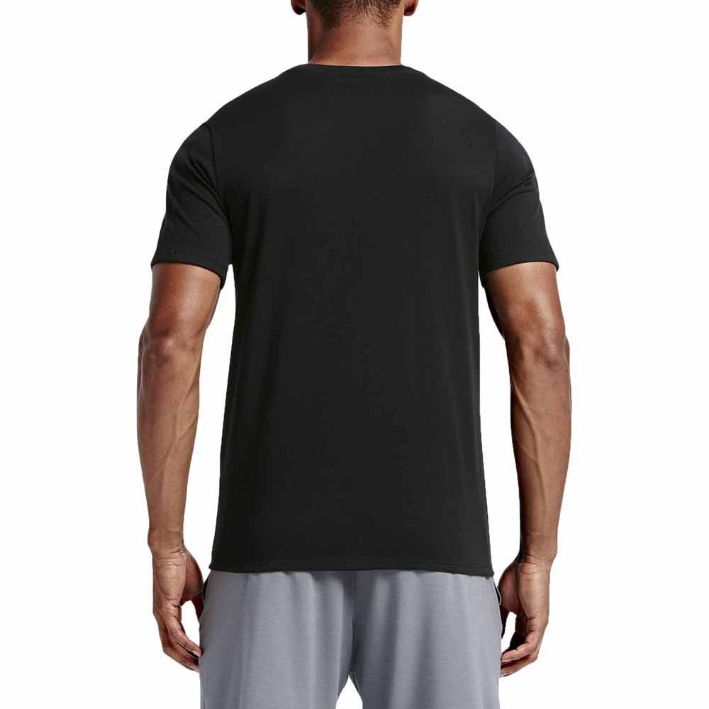 Schwarz Nike Von t Dri t fit Kurzarm shirt 706625 Weiß M 010 YAxUYa