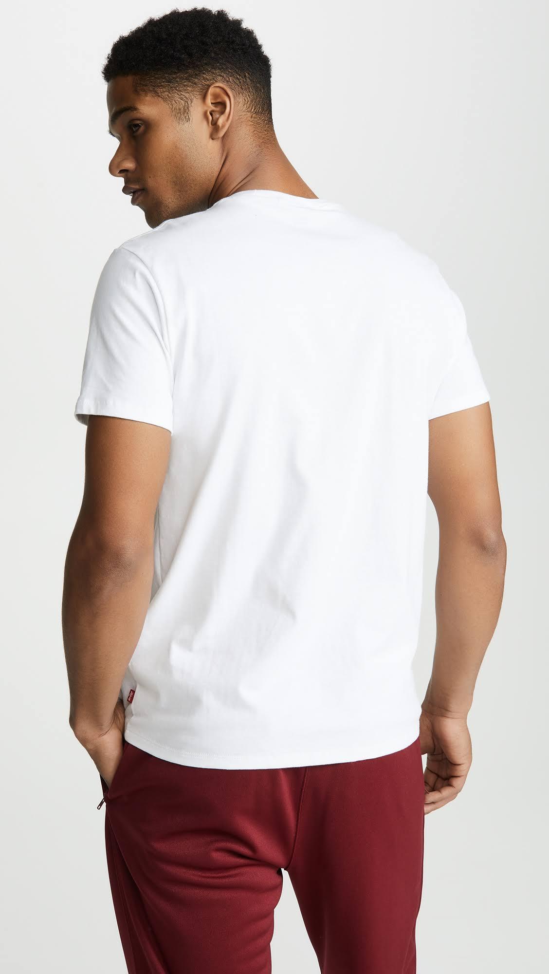 Logo L shirt Classic Levi's T Weiß Männer 5t7FqYqw