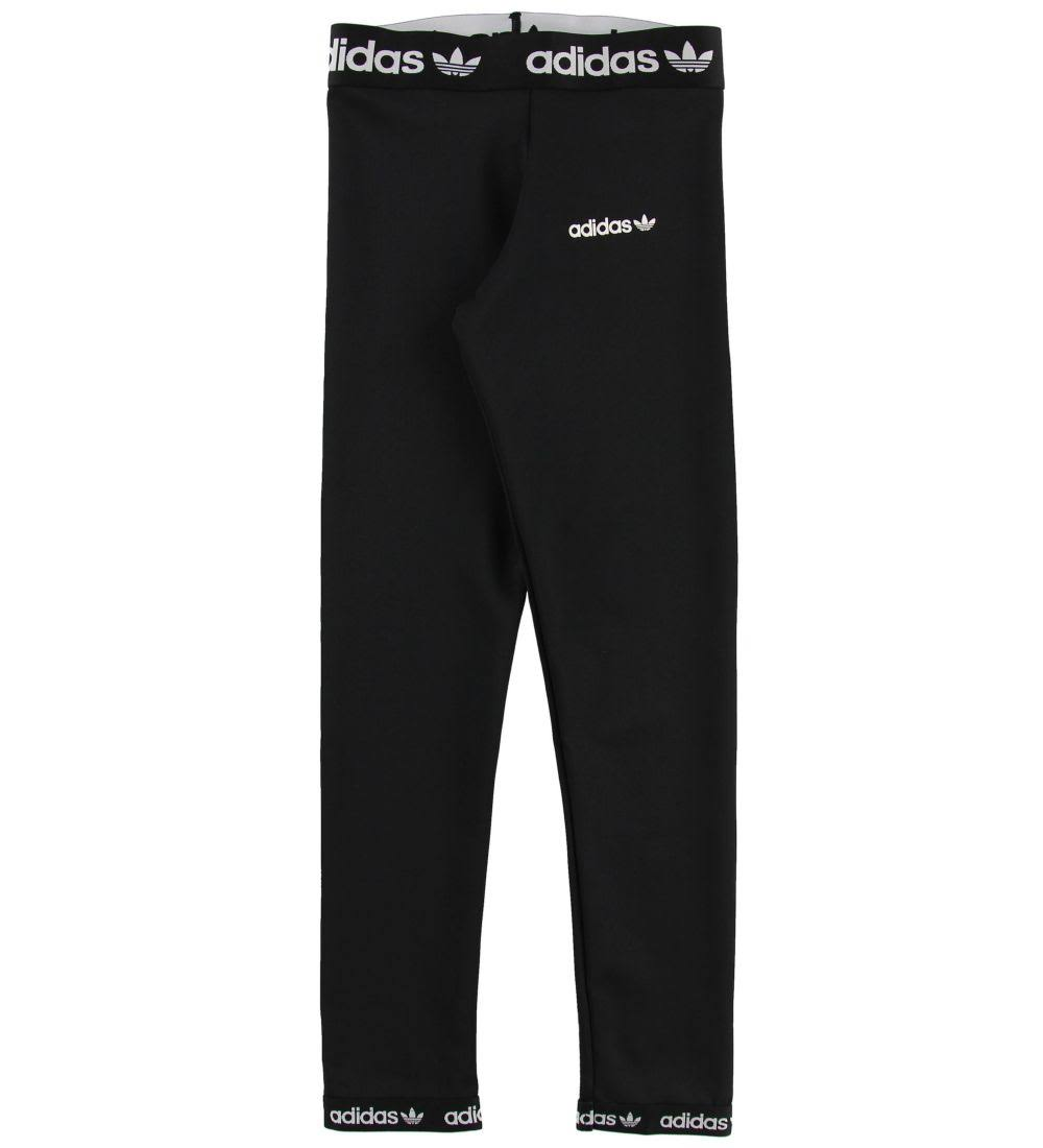 adidas Originals Leggings - Poly - Black - 8 Y (128) - adidas Originals Leggings