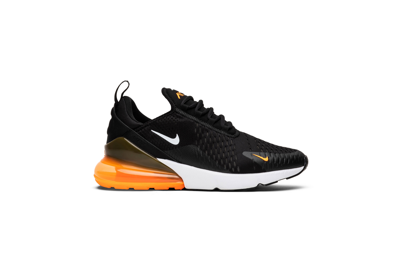 0 Nike Calzado Para Casual Hombre 270 Tamaño Naranja Max Air Negro 15 TORqxB