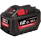 Milwaukee Battery Pack M18 REDLITHIUM-ION 12.0Ah (Each)