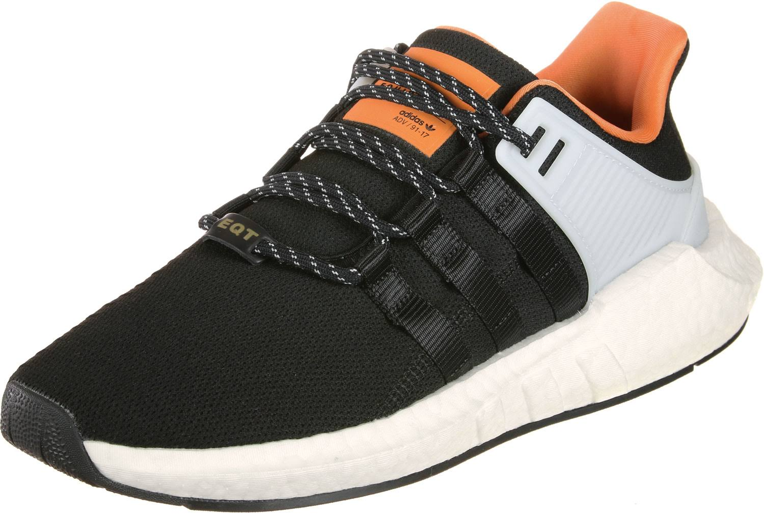 adidas Eqt Support 93/17 shoes black orange Gr.38,0 EU