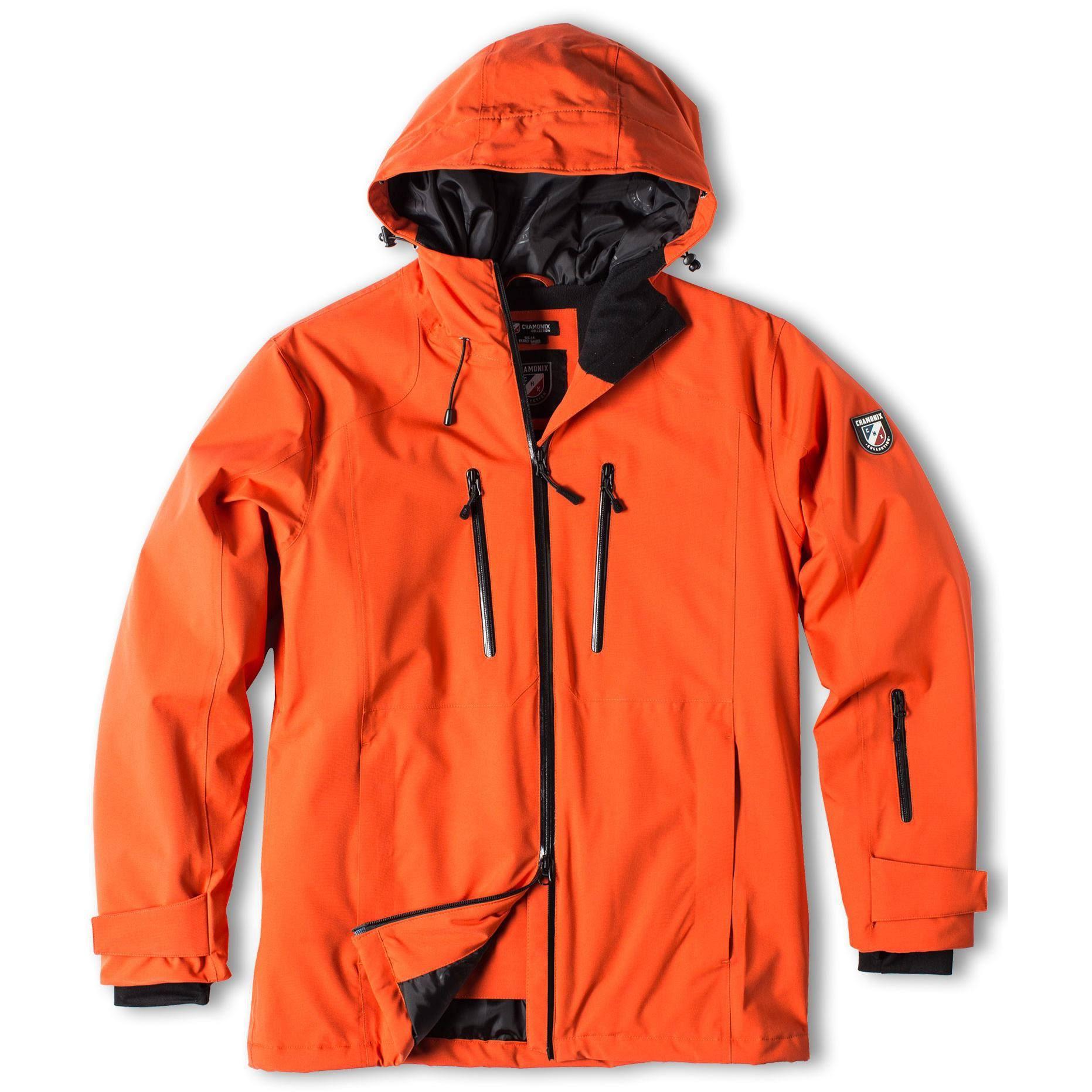 Sz S Chamonix Snowboardjacke Tanzac Orange Brick Herren 4n4FtIqg6