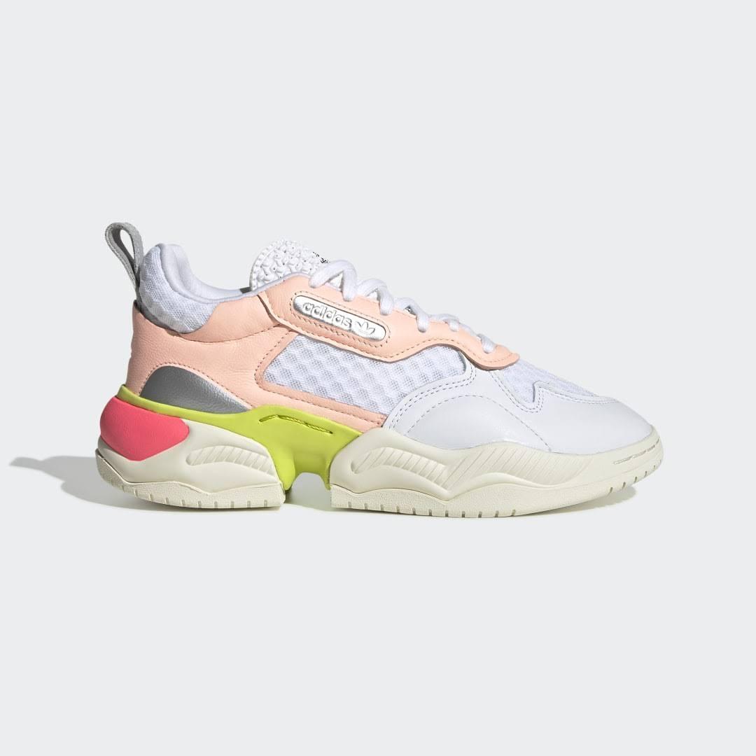 adidas Supercourt Rx WHITE FLASH RED