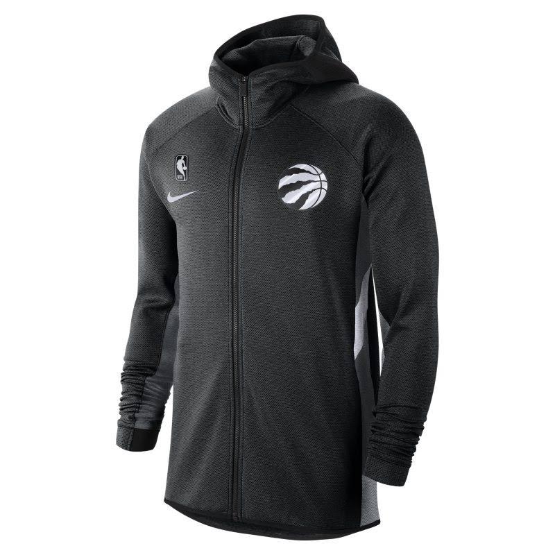 Toronto Raptors Nike Therma Flex Showtime Men's NBA Hoodie - Black