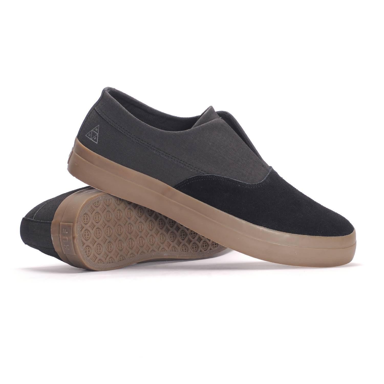Zapatillas Negro Cordones Dylan Goma 8 Oscura Sin Huf IxvrHwxR