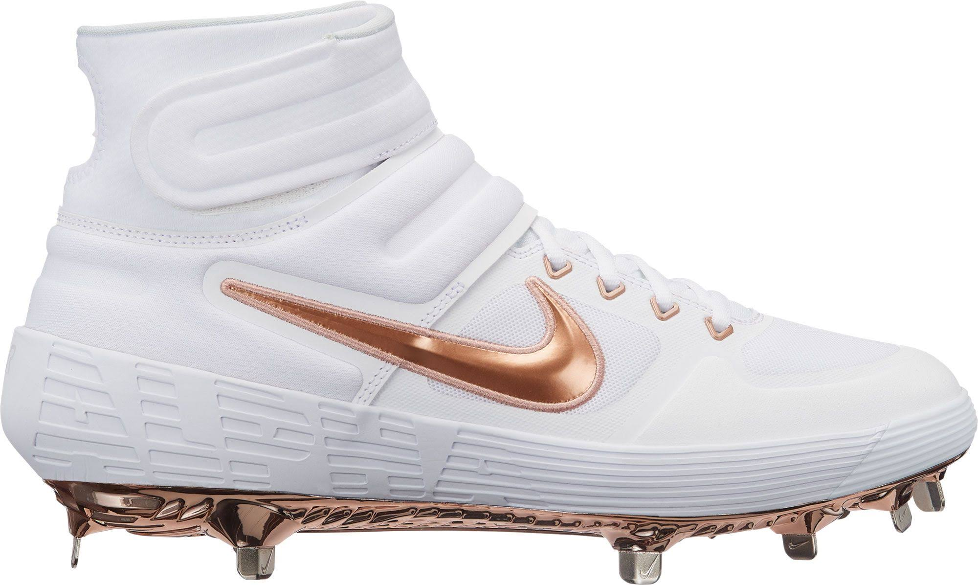 Nike Rojo Puro De Metálico Botines Bronce Para Béisbol Platino 2 Alpha Huarache Elite Hombre Blanco pZCExwqU