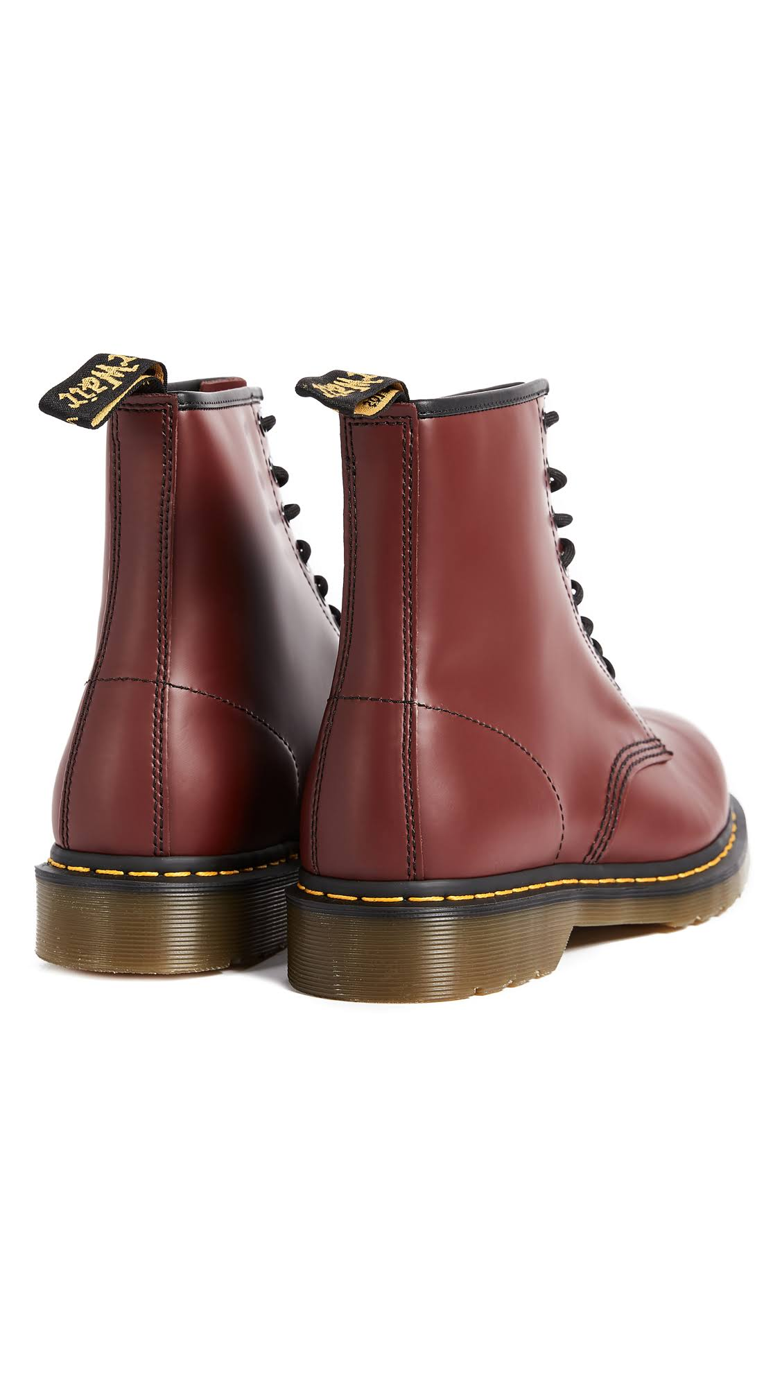 Boots Cherry 1460 Dr Martens 8 12 Eye Red H7W1a