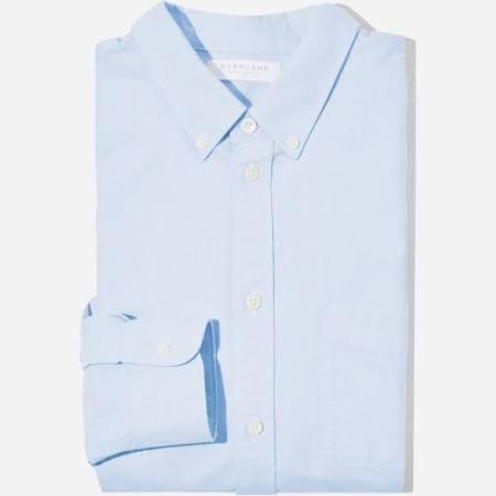 Camisa Claro Para Fit Hombre Oxford Talla Xs De Slim Everlane Azul En Japonesa gqfw1Arg