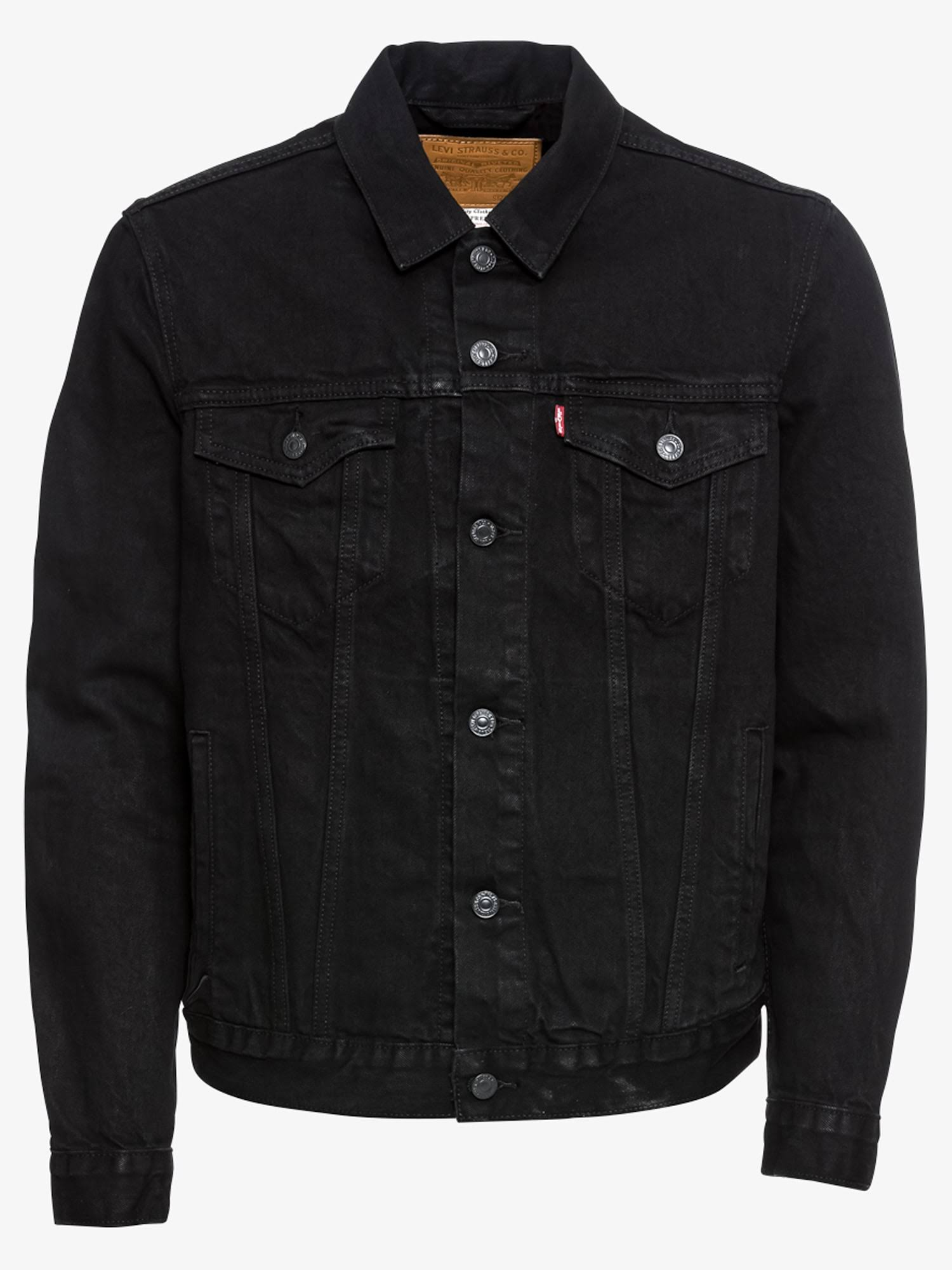 Hombres Jacket Xs Tamaño Levi's The Black Denim Berk Jeans Trucker Birk wwU0Xt