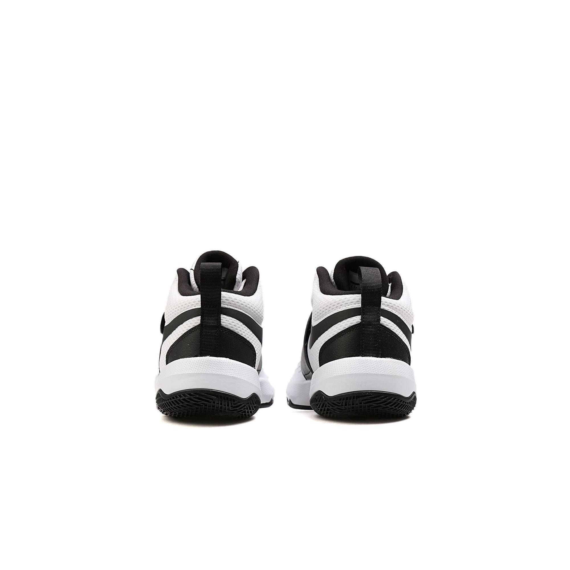 Çocuk Team Beyaz Basketbol Hustle 881942 D 100 Ayakkabısı Nike 8 RqY1xCw