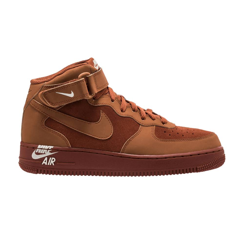 Force Russet Nike Trainers 07 Mid Men's 1 Air PqSEqwR