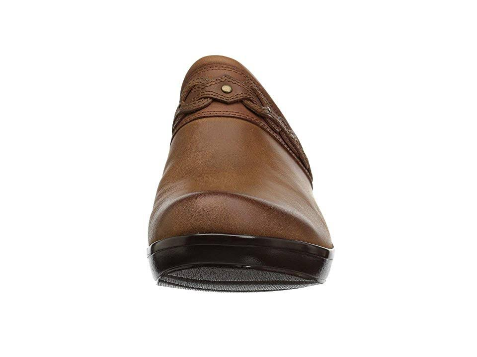 Clarks Marion Coreen ClogTan Leather Wedge nO8XPk0wN