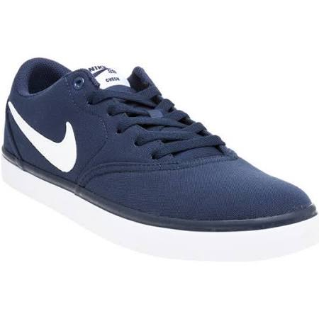 Nike Sb Navy Midnight Navy Trainers Check white qzpqHr