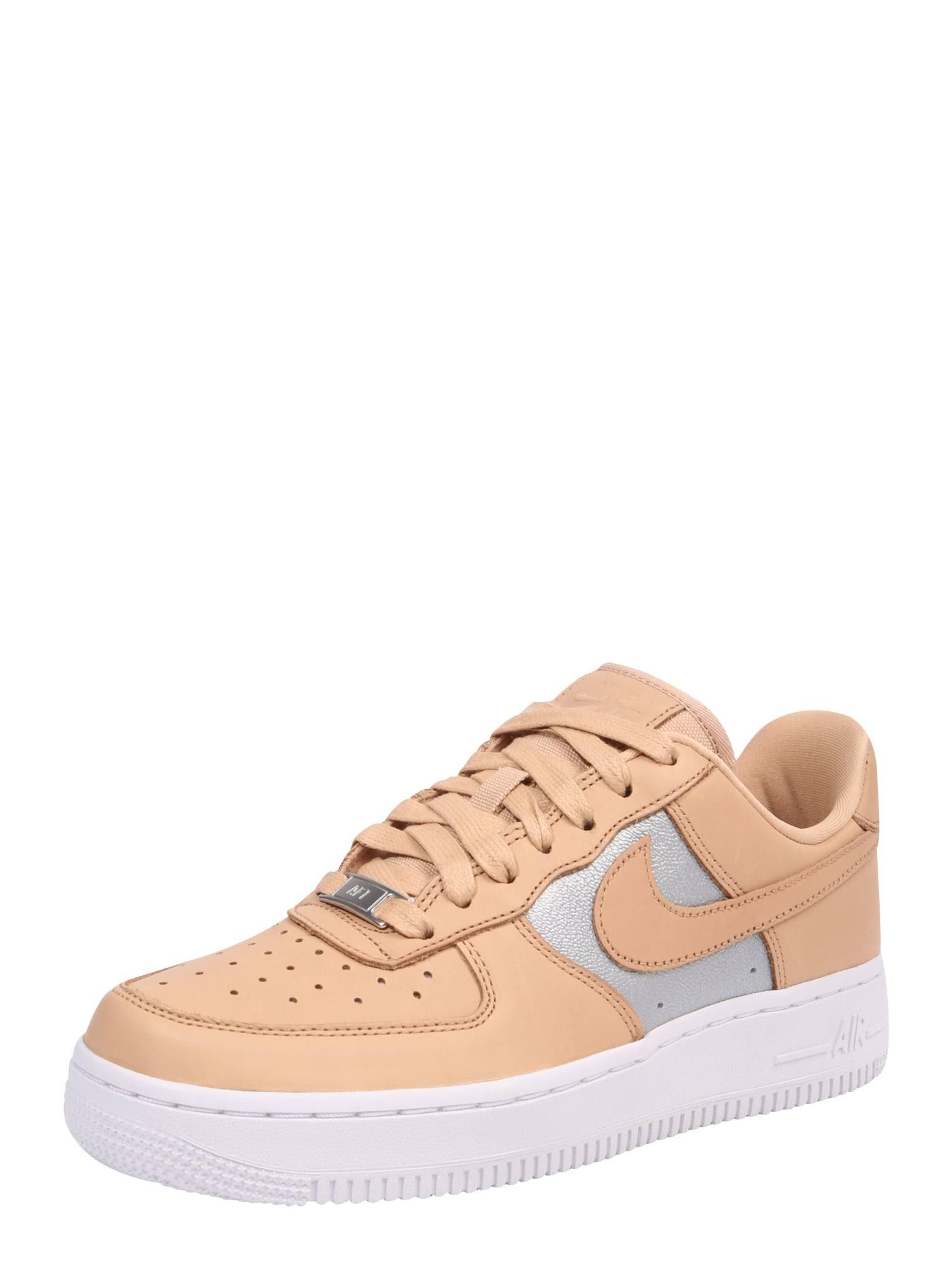 Schuhe Ah6827200 40 Nike Beige Air Größe silber W 07 Force Se Prm 1 UdBFqx