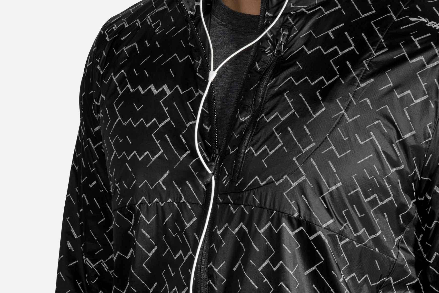 Jacket Xl nebula Brooks Lsd Men's Black xEggwTR