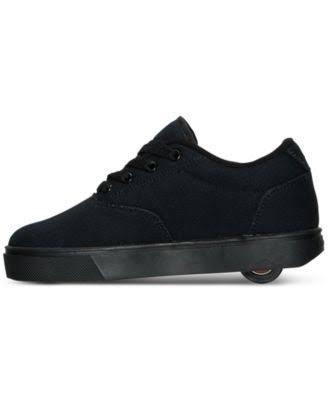 De Pequeño Niño Grande niño Lona Skate Launch Heelys Negra v5xwYqFP4
