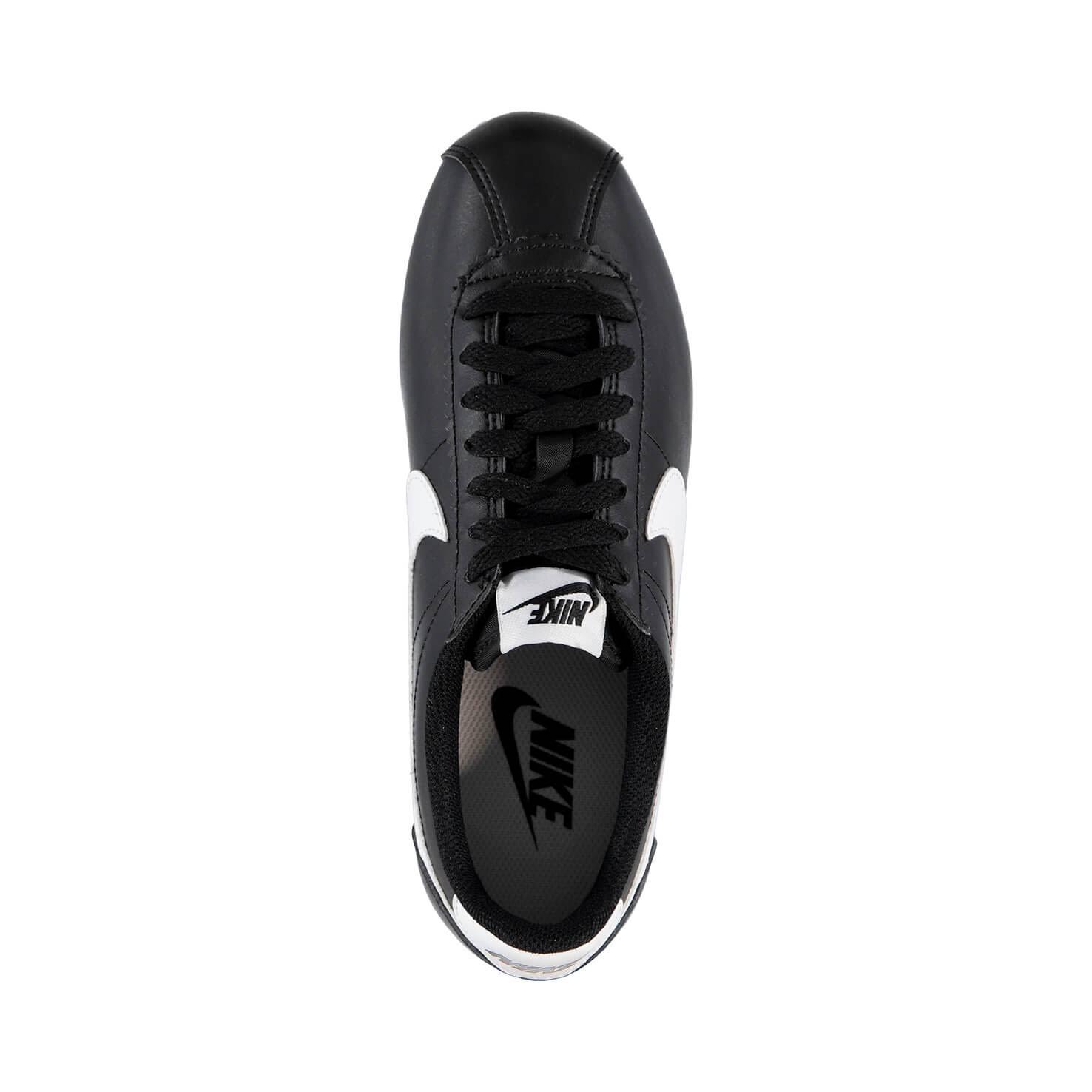 Siyah Classic Ayakkabı 010 Cortez 807471 Wmns Nike Leather 38 OqSH8Ow