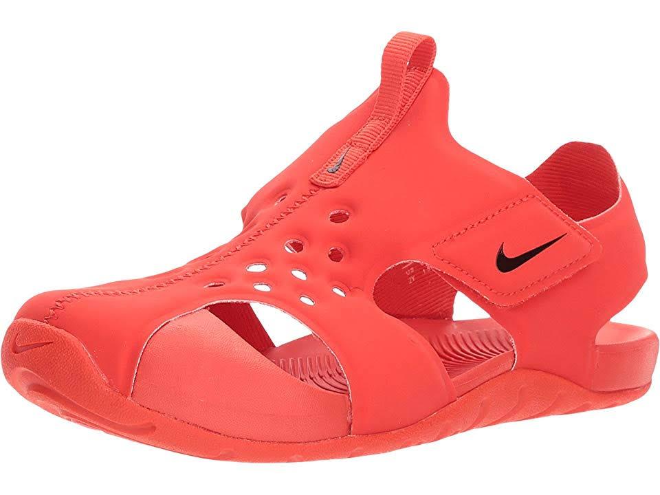 2 Größe Protect Kindersandale Sunray Rot rot Nike 3y Kleine OXT5Ewnxq