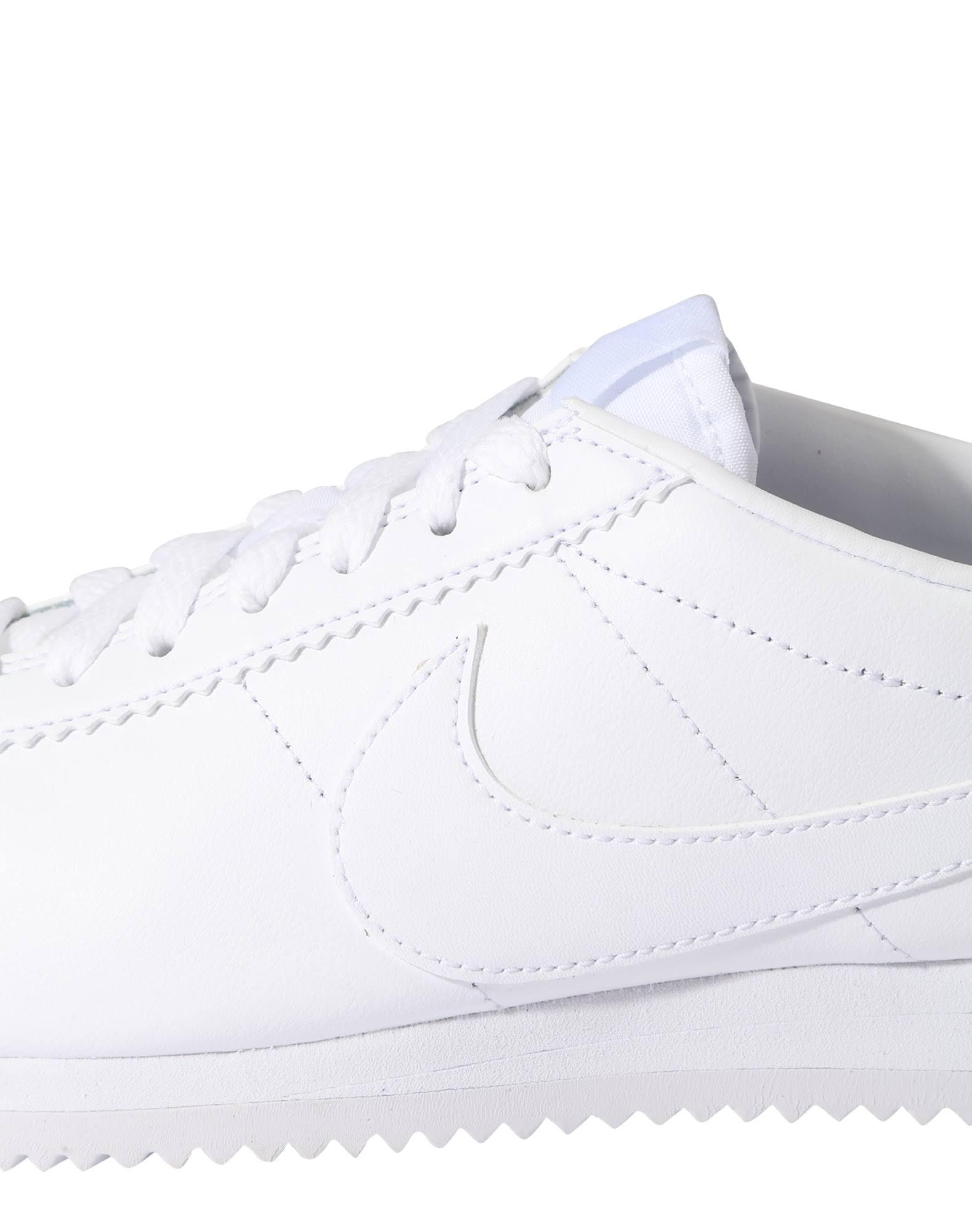 Damen Weiß Classic 36 Nike Weiß Sneaker Cortez In Leather zqxdC4