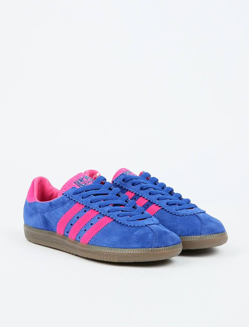 adidas Originals Padiham - Royal Blue/Shop Ink/Gum5, 4.5 / Royal Blue/Shop Ink/Gum5