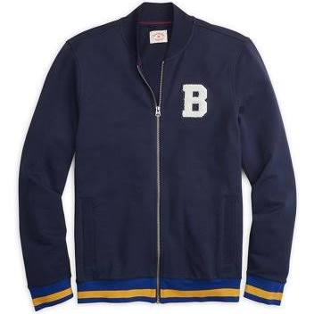Brothers Medium B Blau Baseballjacke Brooks Herren Größe x01qwaqUd