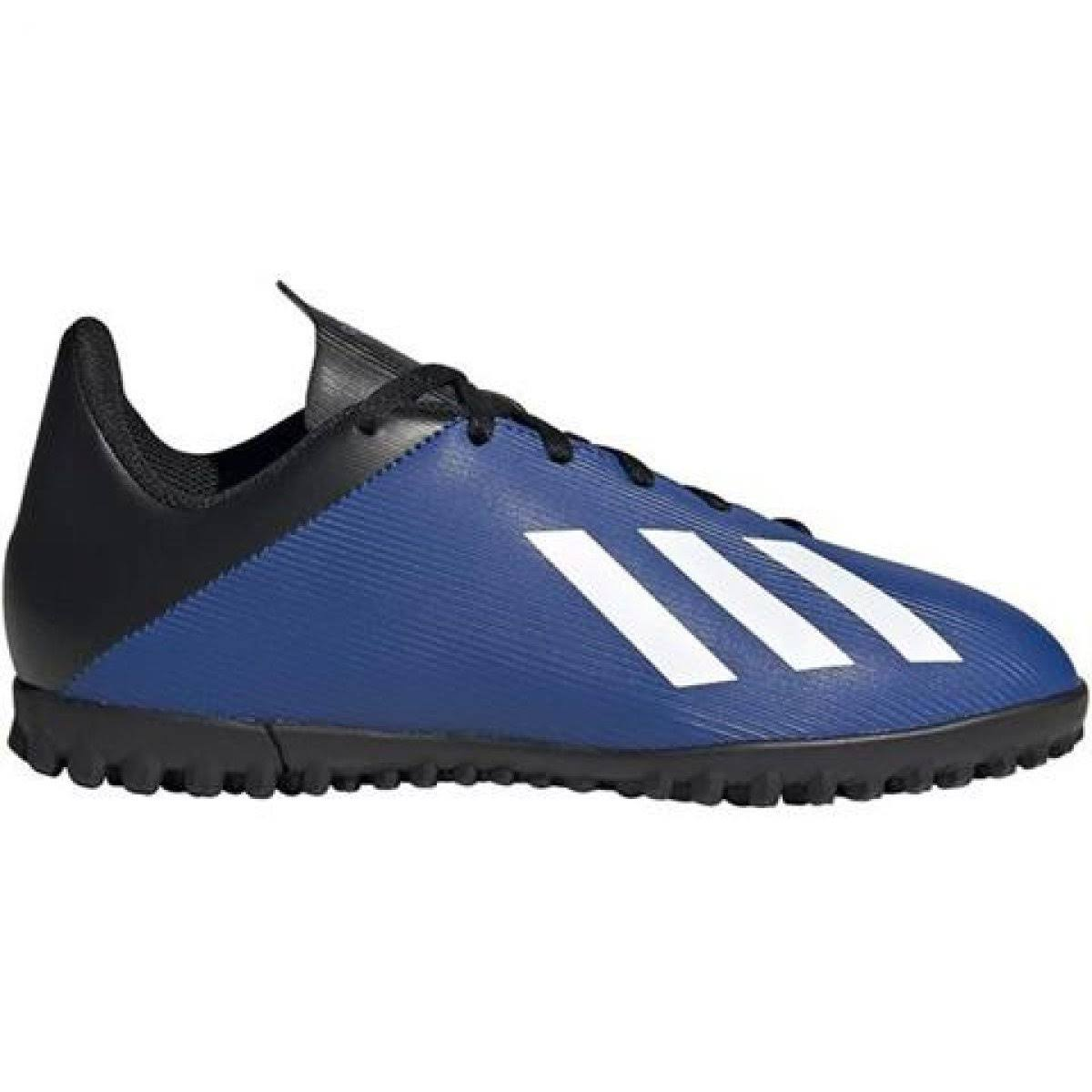 Adidas Junior x 19.4 Astro Turf Football Boot, Blue, Size 5