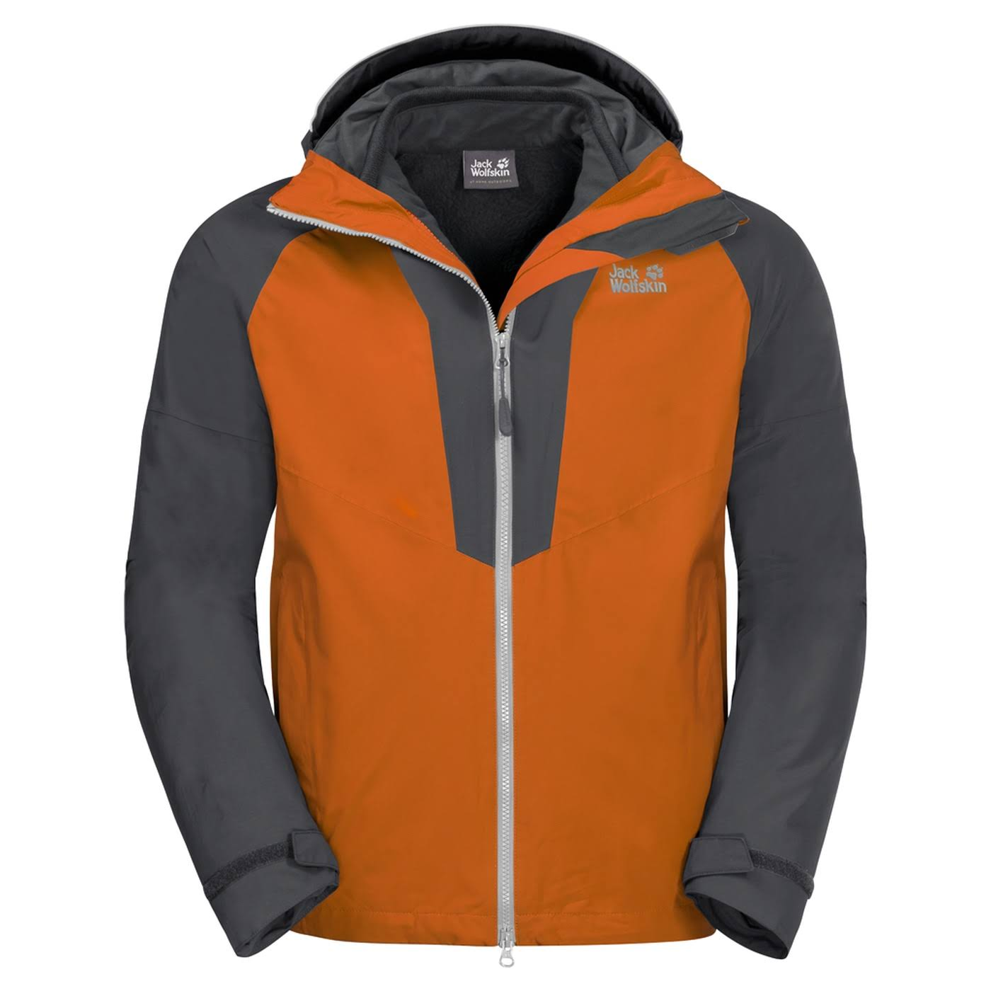 Jack Jacke Herren Orange Apex Peak Wolfskin Desert Regular 3in1 FCrnwqFBx7