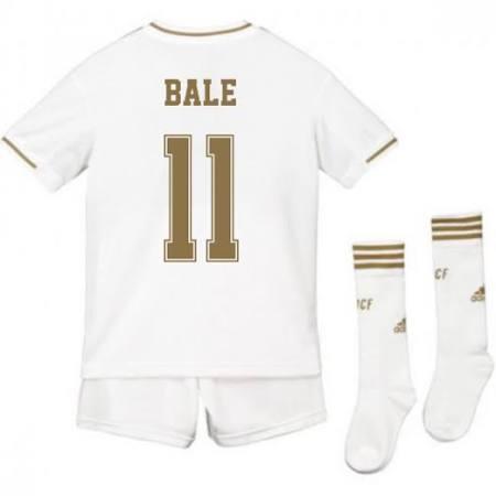 2019-2020 Real Madrid Adidas Home Full Kit (Kids) (Bale 11)