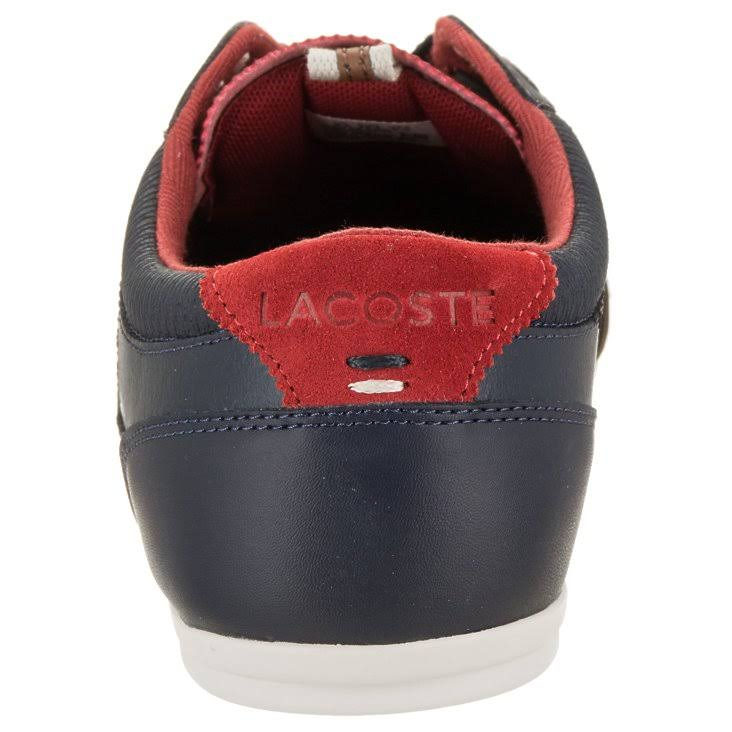 red Navy 2 Lacoste Evara 318 Sneaker red 736cam0024 navy Men's At0twqT8