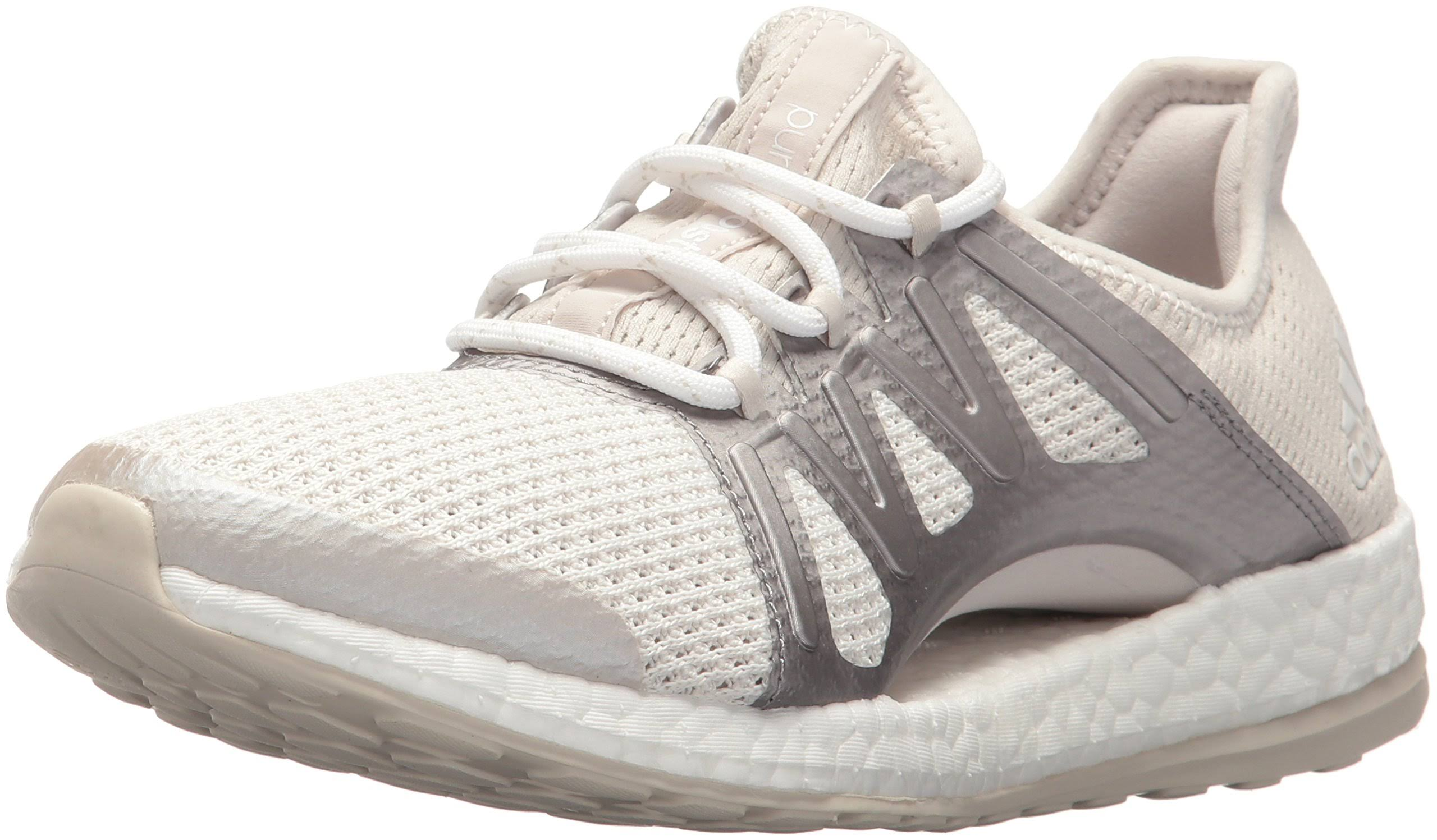 Pureboost Shoes 9 White Adidas Womens Crystal Running Xpose TBnxvd