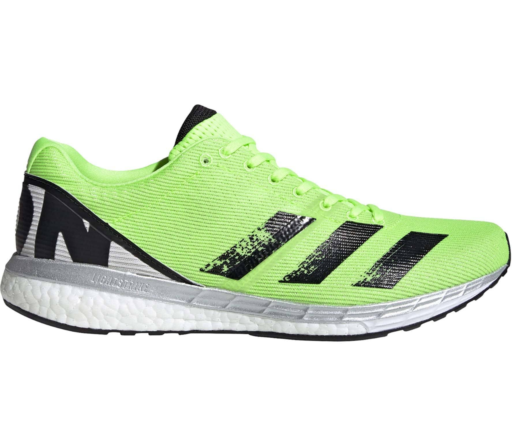 Adidas Adizero Boston 8 Running Shoes - Green - 9