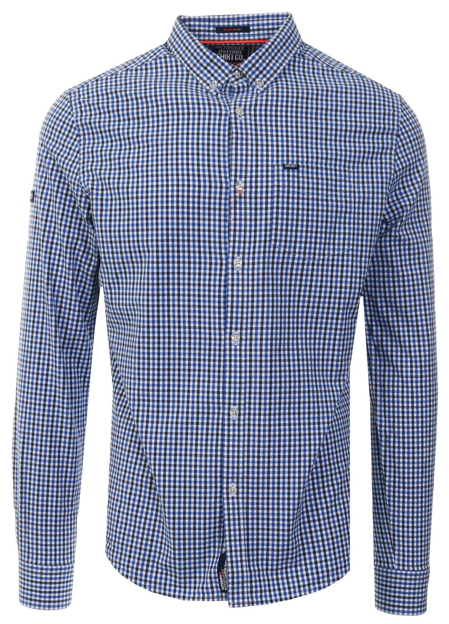 Shirt University Blue Superdry Oxford Ultimate S Größe OPwnaFx