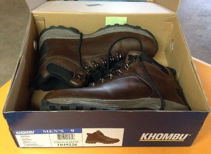 Size Boot Leather Men's Brown Ravine Khombu 10 Waterproof Hiker RAO5Wxqx