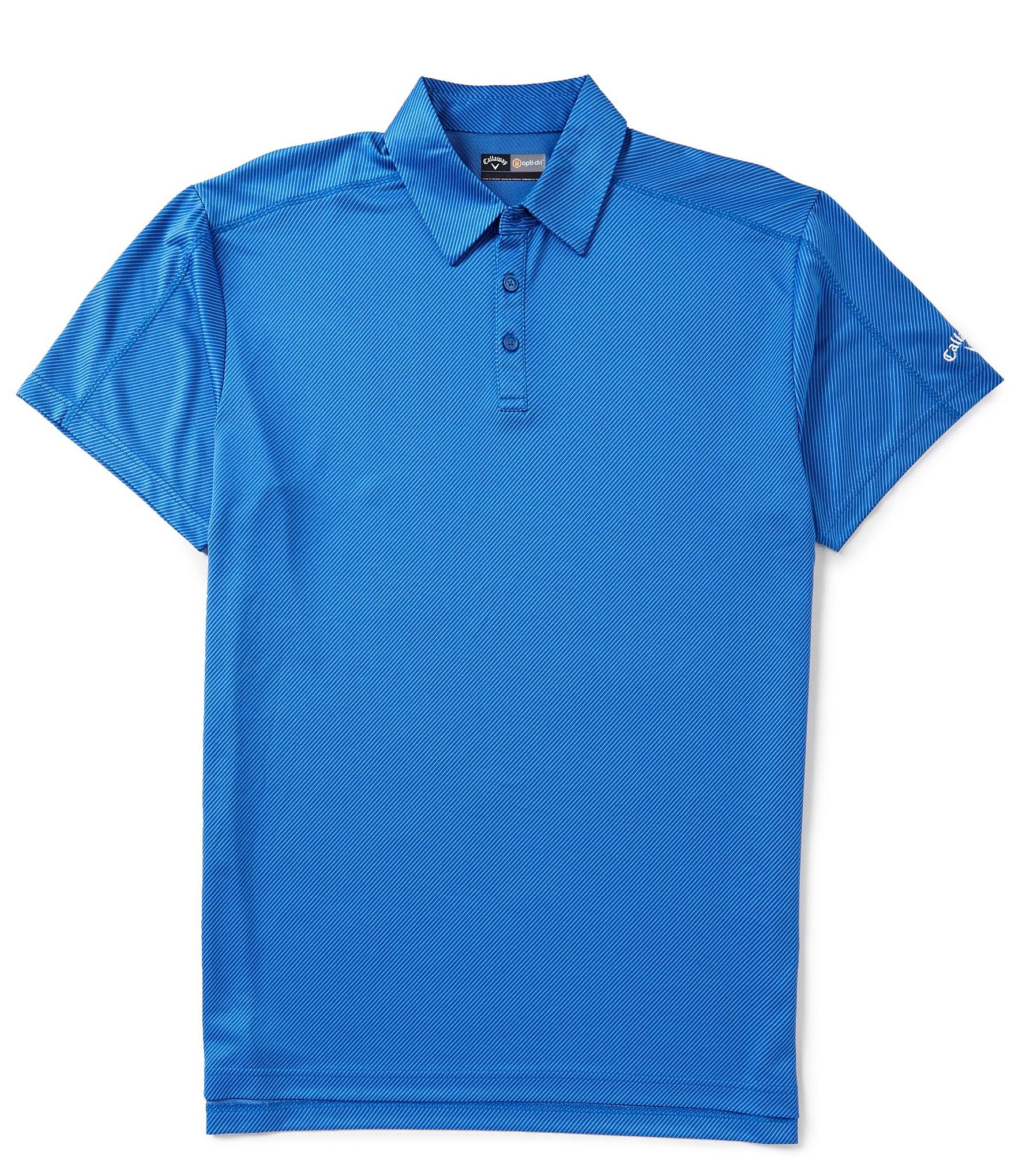 Callaway Para Tall Polo Jacquard De Hombre azul Magnético Denim Big amp; 3x wq88YFZX
