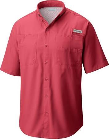 1287051 Red Regular Kurzarmhemd 683 Tamiami Columbia Sunset Xl cqZFF7