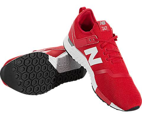 New Balance grey Decon 9 5 size Style Shoes Sport 247 Men's Red ppdw8Rrq