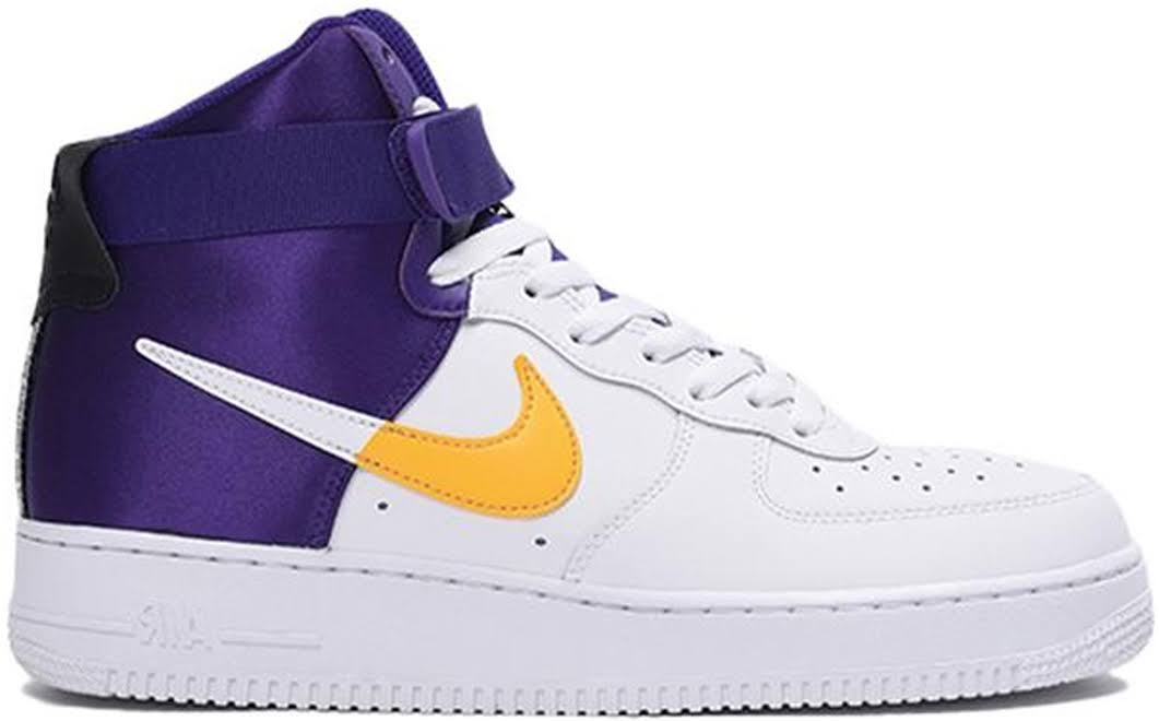 Nike Air Force 1 '07 LV8 High NBA Lakers
