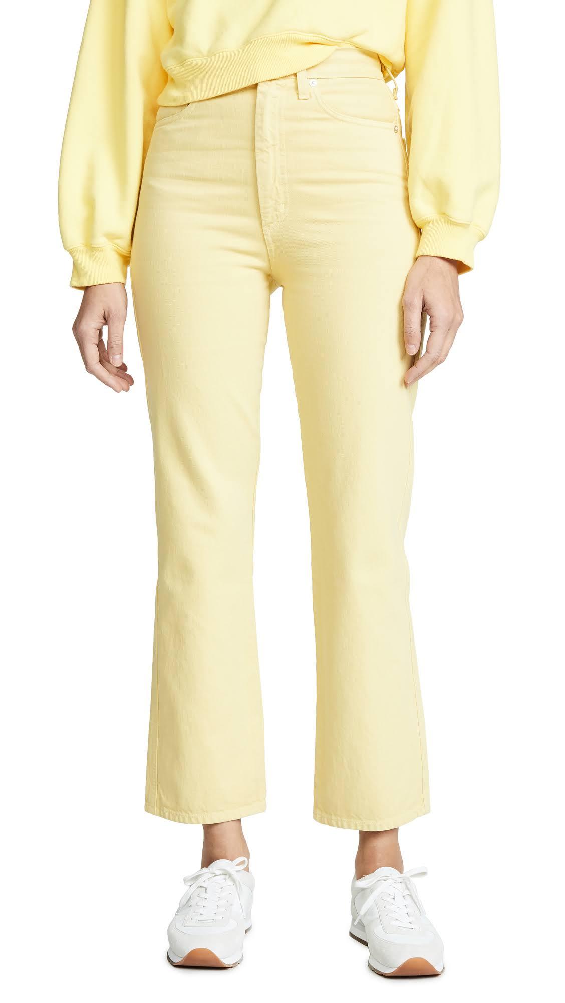 High Jeans Rise 25 Lemon Agolde Kick gwR8CRqx