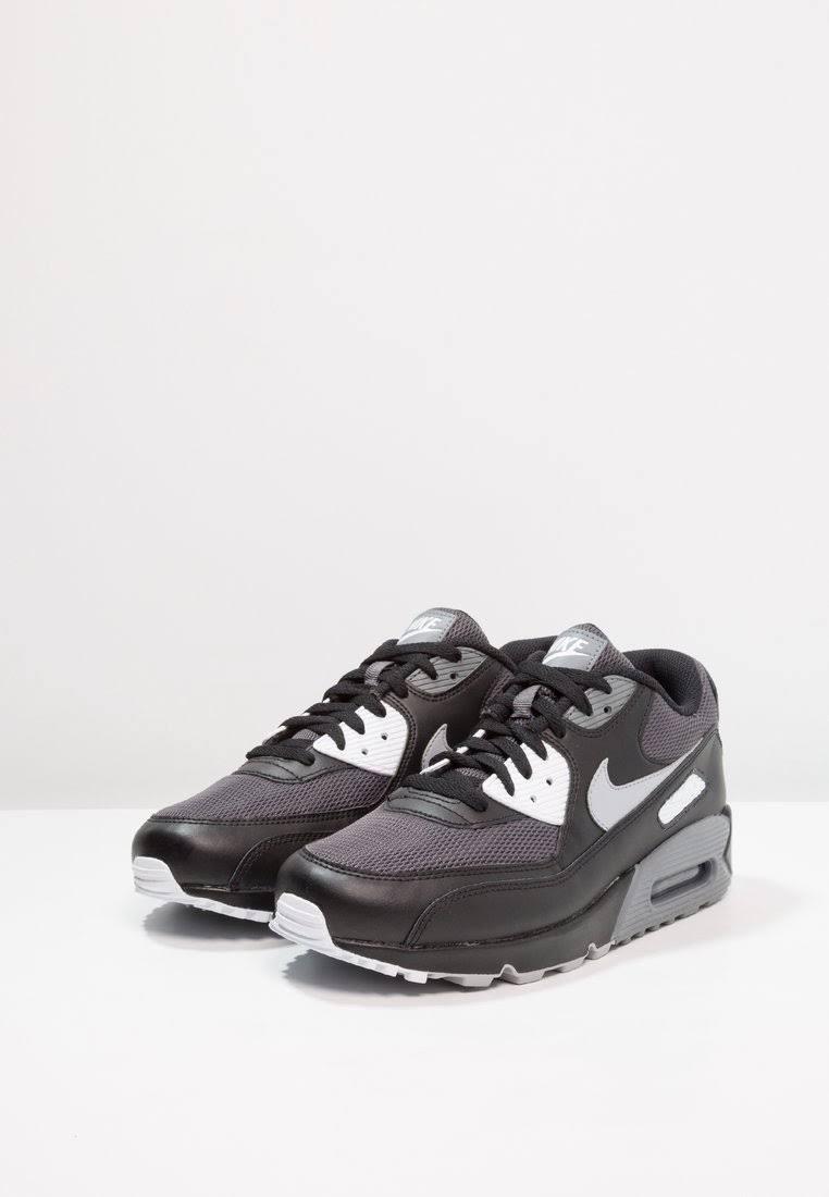 Męski Nike Grey Air Niskie 90 Czarny Max Essential Sneakersy Black Rozmiar 38 Grey 5 Grey wolf Sportswear cool dark Botki zz5xrwA6