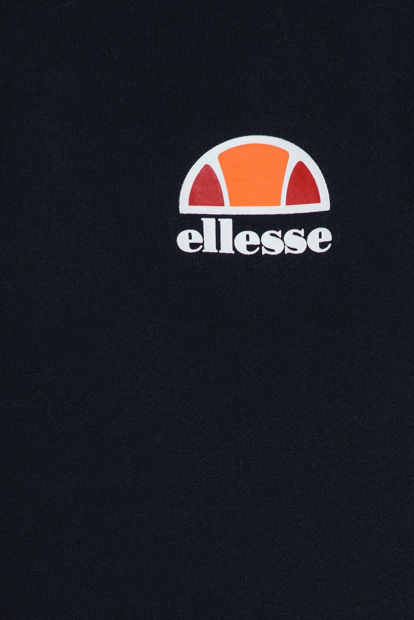 Hombre Sudadera Para Ellesse Logo Con Toce Left Capucha Negra De XqfYqxnw
