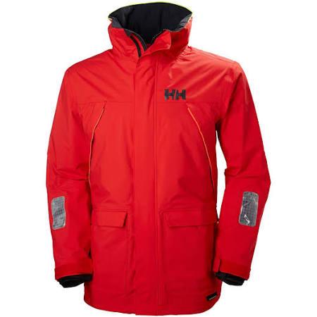 Coastal Hombres Helly Alert Waterproof 33872 Hansen Jacket Red Pier TT6qxCwI