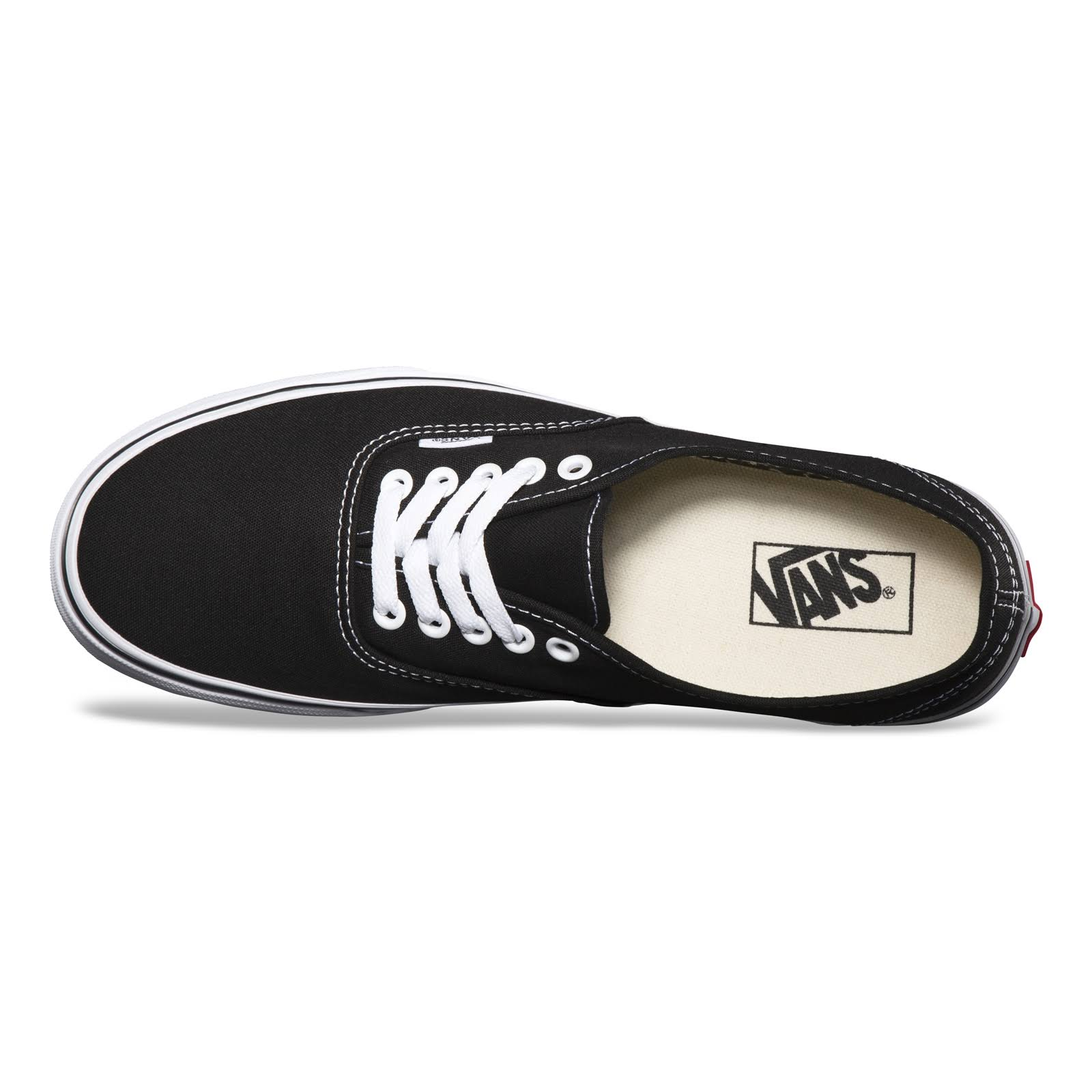 Blanco Vans Shoes Negro Authentic Black 7nWxT4xqFH
