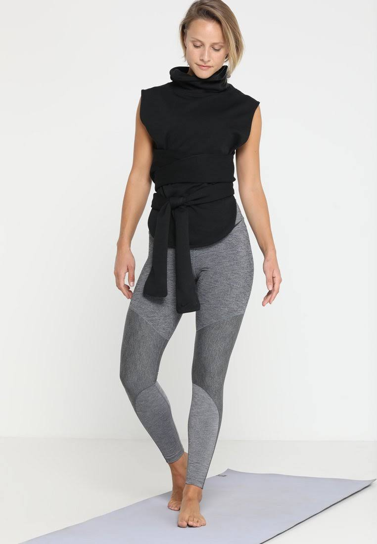 W M Dry Slvless black Nike Wrap 929483 Nk Versa Schwarz Po Black 010 dxwwpTv