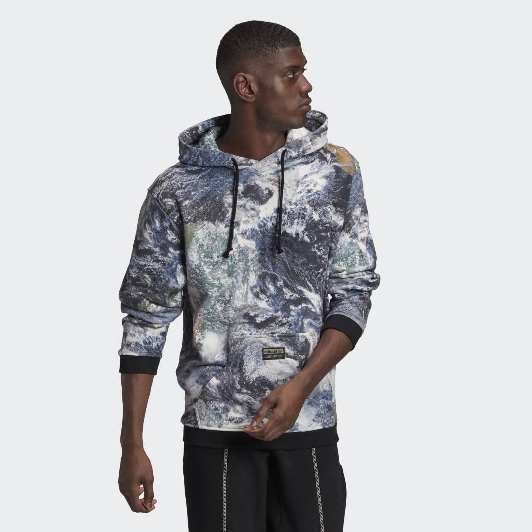 Adidas Originals Graphic Hoodie - Multicolor - Mens