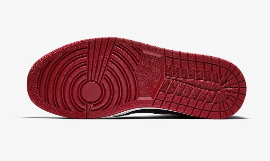 Jordan 1 Tamaño Banned Hombre High Rojo Flyknit Retro Air 7 5 Pf7qAHwAc