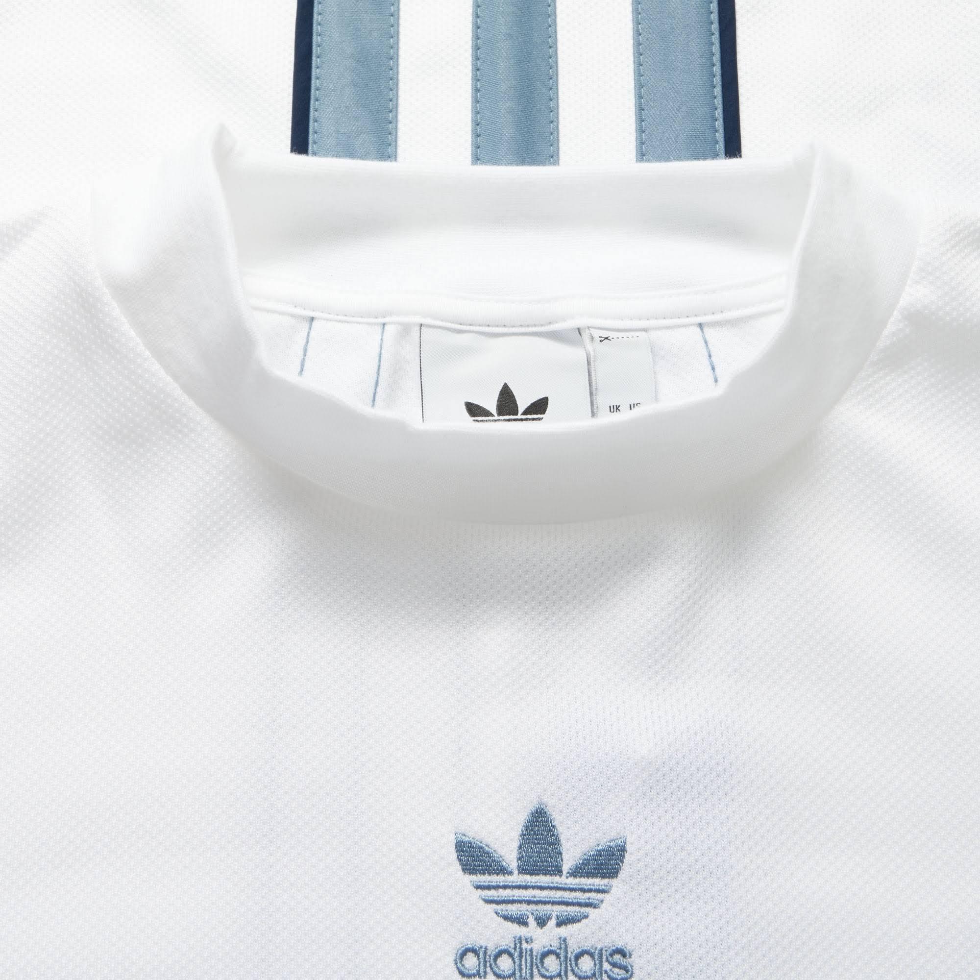 Weiß Authentic Stripe amp; Jersey Adidas Rohgrau wPzqaO4