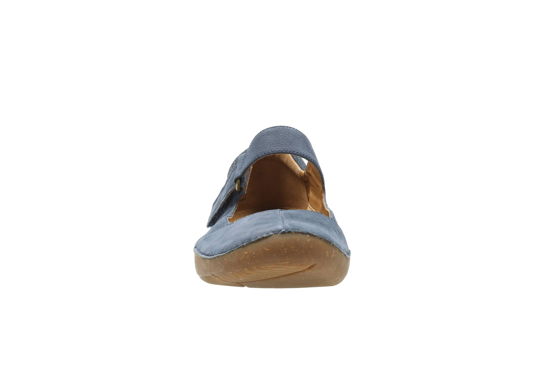 Cunei Con Autunno In Pelle Clarks Tacco Sandali Blue Donna uTlcJ5FK13